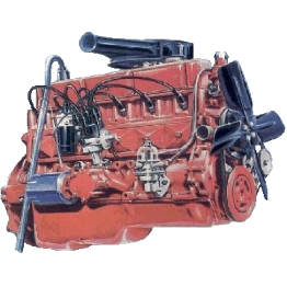 6cyl Red motor