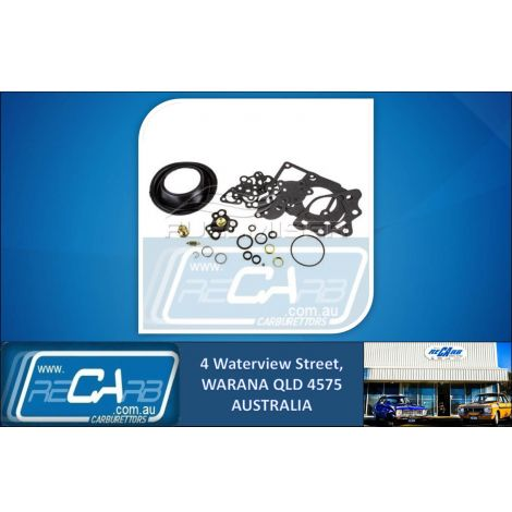 CD-205 Fuelmiser Carburettor Rebuild Kit Suits Jaguar XJ4.2C XJ6 (Stromberg)