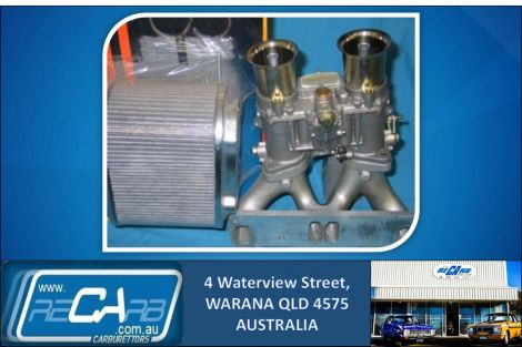 Mazda 13B 4 Port Rotary - GENUINE WEBER 48 IDA New Carburettor Conversion Kit