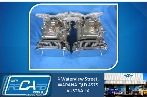Ford Escort / Cortina 2lt Pinto GENUINE Twin 40 DCOE WEBER Carburettor Kit