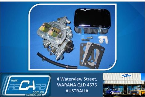 Nissan Navara Z20 - GENUINE WEBER 32/36 DGEV Carburettor Conversion Kit with Solenoid