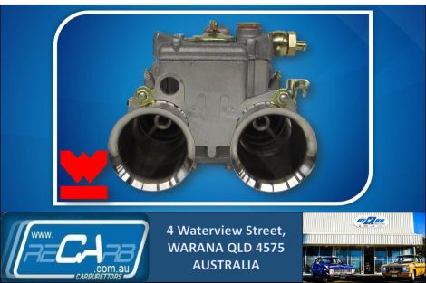 New GENUINE Spanish Weber 45 DCOE 152G 4 Hole Progression Carburettor