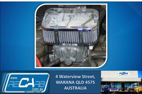 Holden Gemini / Isuzu 1.6 & 2.0L Engine - GENUINE WEBER DGV 32/36 Carburettor Conversion Kit
