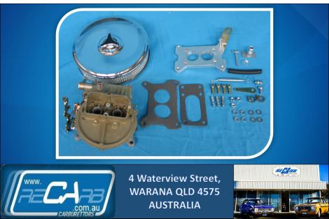 Landcruiser 2F 4x4 New 330 Holley Carburettor Conversion Kit Petrol or Dual Fuel