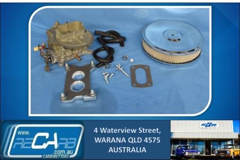 Chrysler Valiant Hemi 6cyl New 330 Holley Carburettor Conversion Kit