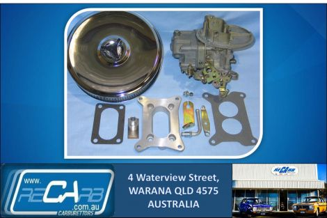 Landcruiser 2F 4x4 Reconditioned 330 Holley Carburettor Kit Suit Petrol or Dual Fuel