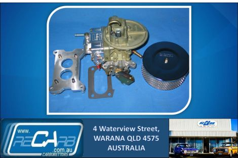350 Holley Carburettor Kit to suit Boat, Marine Inboard - replaces Mercriuser Rochester 2 Jet