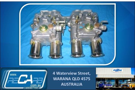 Mitsubishi Astron 1850, 2000, 2600 - GENUINE Twin 45 DCOE WEBER Carburettor Kit