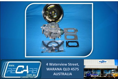 Toyota Hilux 3Y and 4Y - Carburettor GENUINE Reco WEBER Up-grade Kit