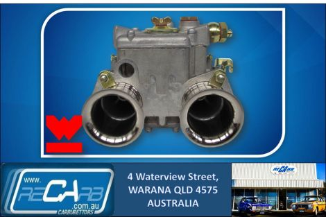 New GENUINE Spanish Weber 40 DCOE 151 3 Hole Progression Carburettor