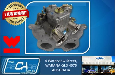 Single 40 DCOE GENUINE WEBER Carburettor Conversion Kit Nissan Datsun A14 A15