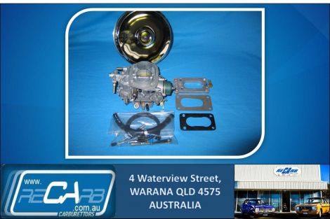 Toyota Hilux 4Y - Reconditioned GENUINE WEBER 34 ADR Carburettor Conversion Kit