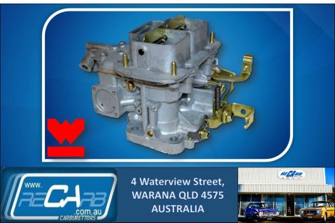 New GENUINE Spanish Weber 32/36 DGV DGV 5A Carburettor Carby Manual Choke