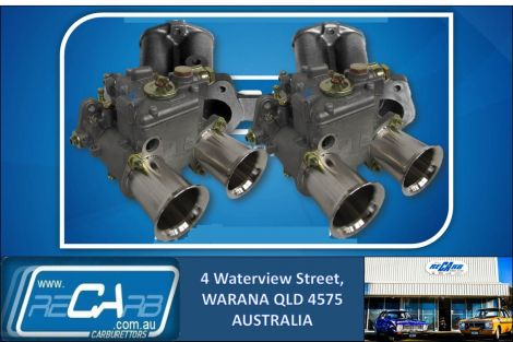 Datsun A12 120Y 1200 - GENUINE Twin 45 DCOE WEBER Carburettor Conversion Kit