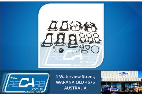 AN-127 Fuelmiser Carburettor Rebuild Kit Ford Laser KC, KE, Mazda 323 BF & Suzuki Swift