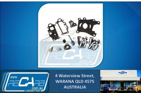 AN-128 Fuelmiser Carburettor Rebuild Kit Suits Mitsubishi Lancer CA CB CC 1.5L