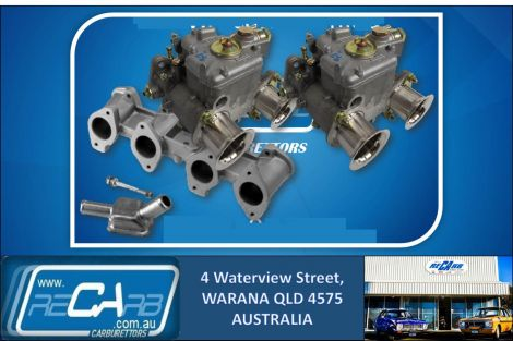 BMW M10 4 Cyl 1600-2002 - GENUINE Twin WEBER 40 DCOE Carburettor Set - NEW