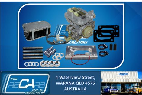 Subaru Brumby - GENUINE SPANISH WEBER 32/36 DGEV DGV Carburettor Conversion Kit