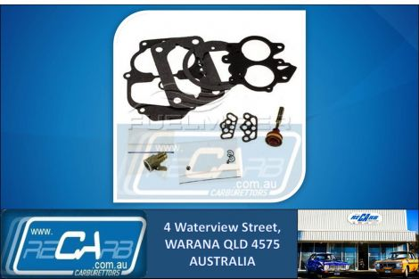 CA-154 Fuelmiser Carburettor Rebuild Kit Suits Chrysler Valiant CL CM VK Hemi