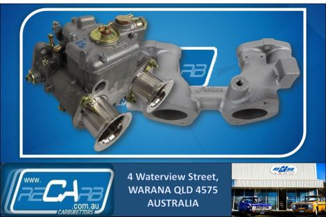 Nissan Datsun A12 120Y - GENUINE WEBER 40 DCOE Carburettor Conversion Kit