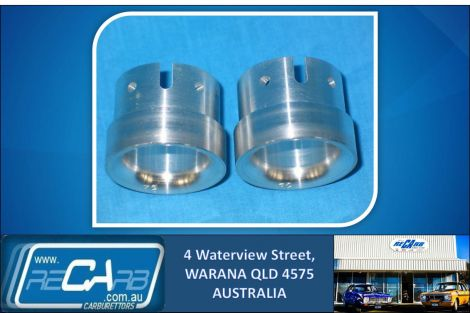 45 DCOE Weber Carburettor Venturi Chokes, New Pair