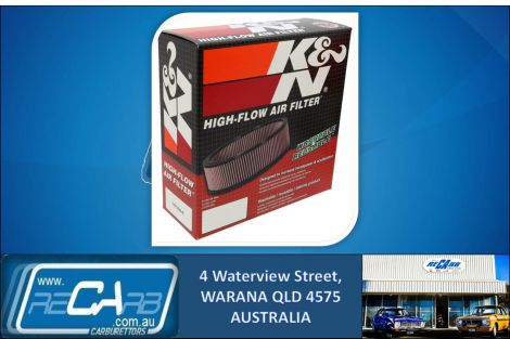 K&N Air Filter E-2640 Suit Toyota Hilux(1Y-4Y),Dodge Challenger.Ryco A242X Equiv