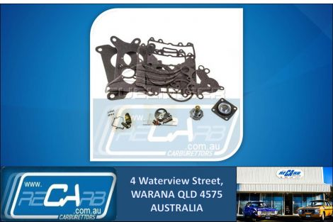 FD-306A Fuelmiser Carburettor Rebuild Kit Suits Jeep Cherokee SJ 5.9L (79-85)
