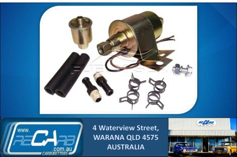 Electric Fuel Pump - Holden Torana LC LH LJ LX UC, Commodore VB VC VH VK & Early Holdens