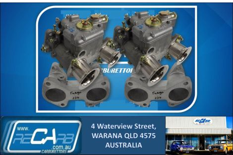 Renault Fuego - GENUINE Twin 40 DCOE WEBER - Conversion Kit - Reco Manifold