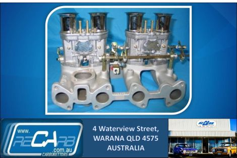 Gemini - GENUINE Twin 40 WEBER IDF Carburettor Conversion Kit