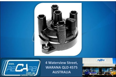 JP718 - Fuelmiser Distributor Cap for Ford Laser KH, KF, Holden Barina MF, MH, Mazda 121 DA, Suzuki Swift SF