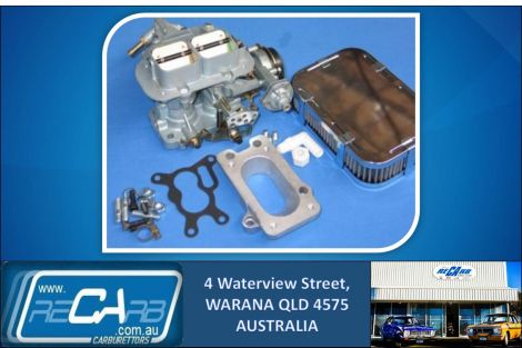 Full WEBER carburettor set to suit Ford Laser KA, KB and Mazda 323 1.3lt, 1.5lt engine