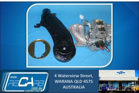 New 32/36 DGEV GENUINE WEBER Carburettor Conversion Kit for Mazda E2000 with Hat