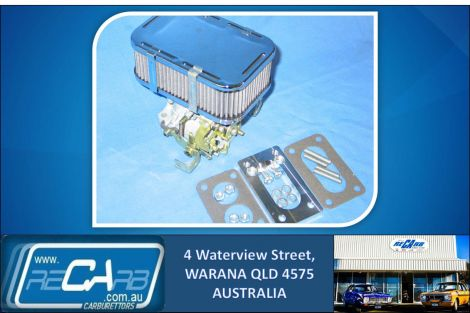 Mazda Ute 1970 to 1985 B1500 B1600 B1800 B2000 WEBER Carburettor Conversion Kit