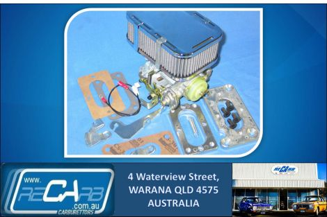 Mazda UTE 1985 to 1990 B2000 B2200 - GENUINE WEBER Carburettor Conversion Kit