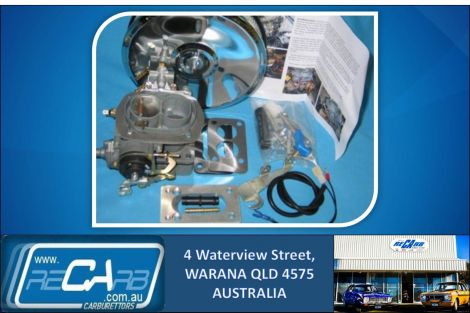 Mazda UTE 1987 to 1991 B2600 - GENUINE WEBER Carburettor Conversion Kit