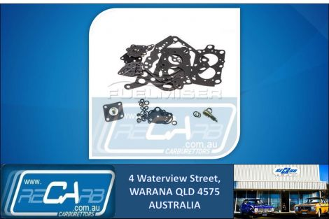 MS-505A Fuelmiser Carburettor Rebuild Kit Suits Mitsubishi Magna Sigma L300 Exp