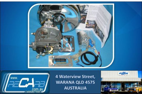 Mitsubishi 4X4 Pajero 2.6LT GENUINE RECO WEBER Carburettor Upgrade Kit