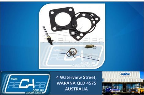 SU-760 Fuelmiser Carburettor Rebuild Kit Suits Volvo 144 2.0L, 240 2.1L