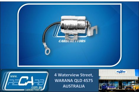 TC204 - Fuelmiser Distributor Condenser for Holden HX 5.0L, Landcruiser 40, 45, 55 Series (see details)
