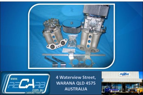 VW type 2 Engines, Kombi - GENUINE Twin 44 WEBER IDF Carburettor Conversion Kit