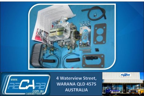 Subaru Wagon 4x4 and Leone - GENUINE WEBER 32/36 DGEV Carburettor Conversion Kit