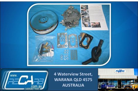 Nissan Navara and Pathfinder 2.4lt Z24 GENUINE WEBER Carburettor Upgrade Kit